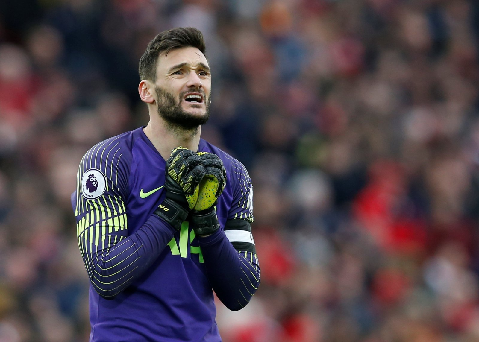 Tottenham fans on Twitter urge Lloris to avoid catastrophic blunder