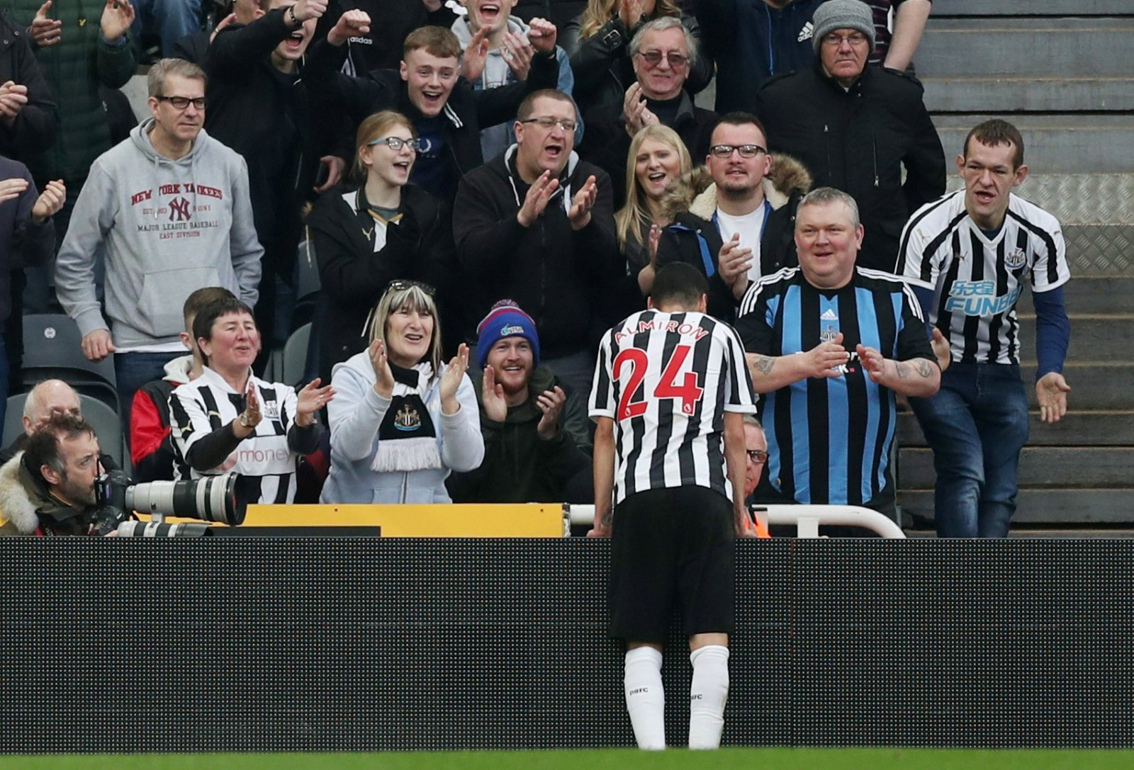 Newcastle: Benitez should not need to defend Almiron, his football is speaking for itself