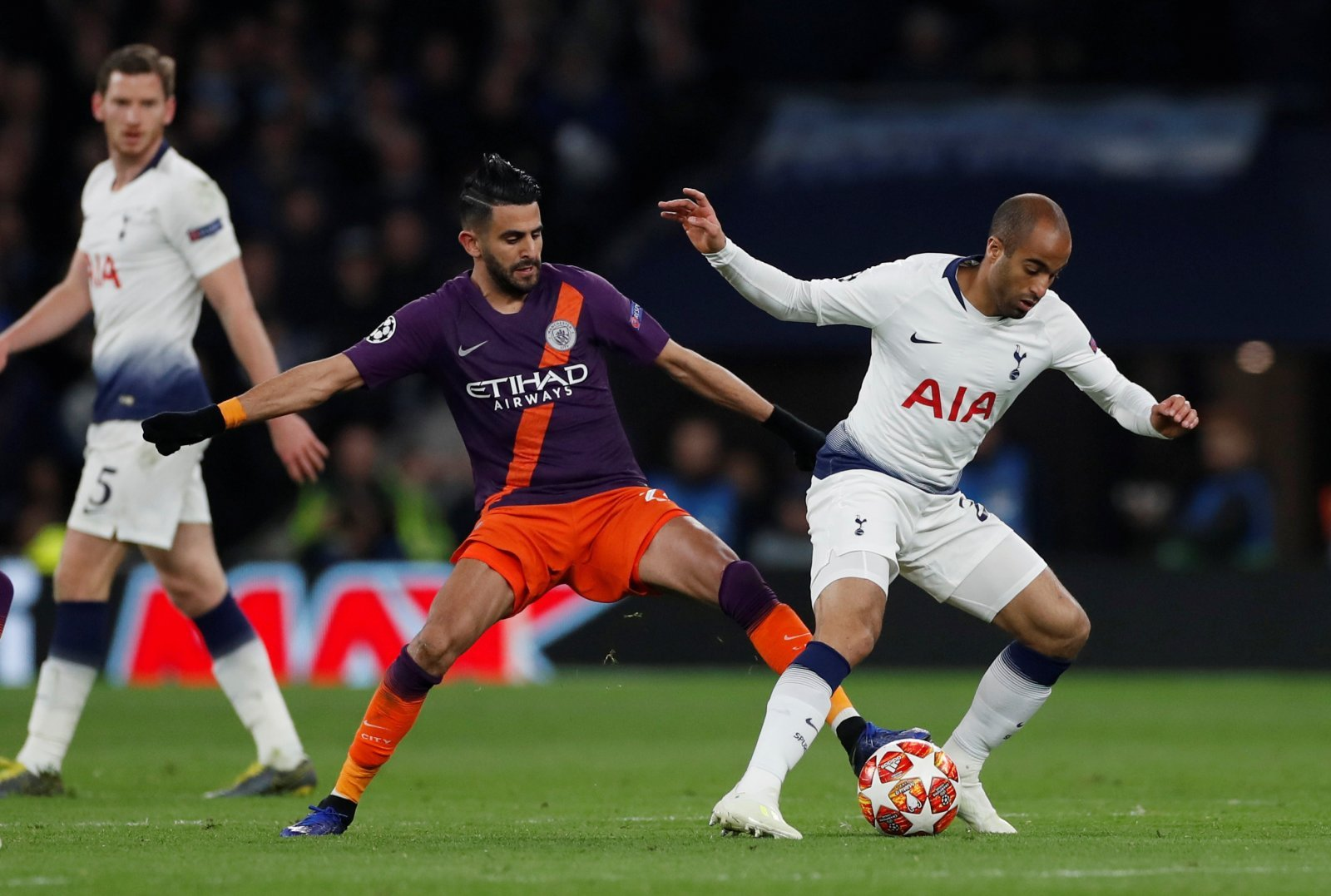 Martin Keown: Lucas Moura is a speed demon who can punish Manchester City on the break