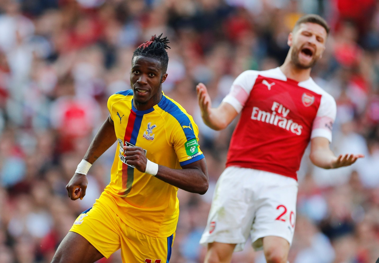 Crystal Palace: Arsenal's £40m bid for Wilfried Zaha labelled embarrassing