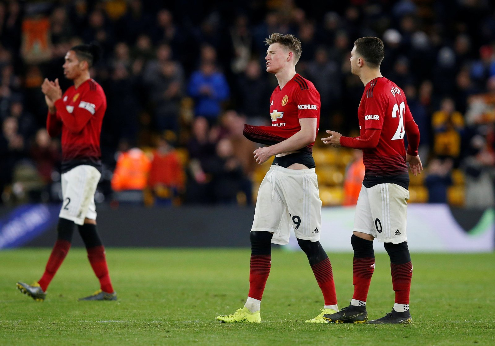 Unsung hero: Scott McTominay can hold his head high after valiant efforts