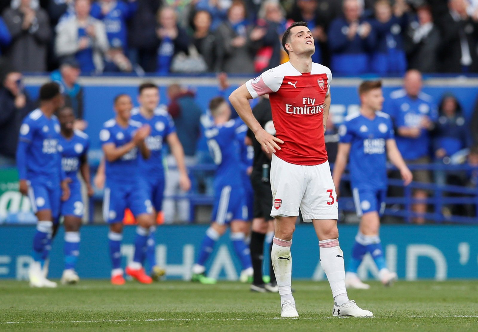 Arsenal: Fans turn on Granit Xhaka after statistic emerges