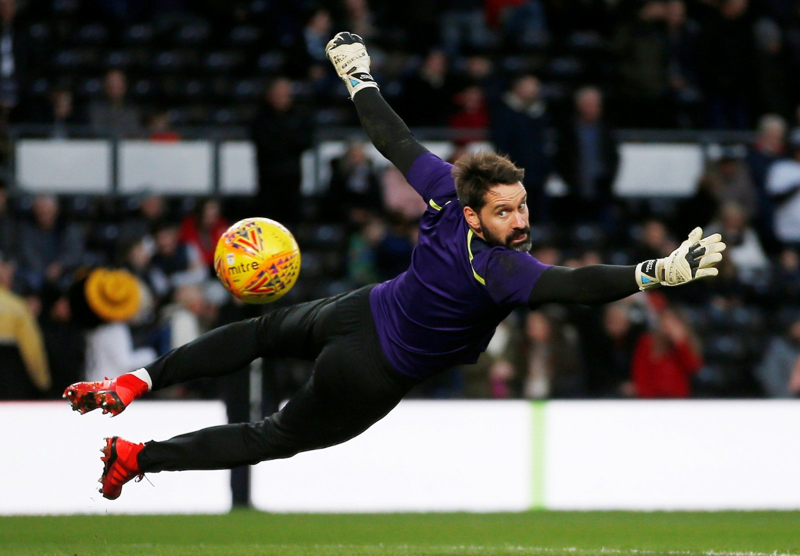 Manchester City: Scott Carson set to join on season-long loan from Derby