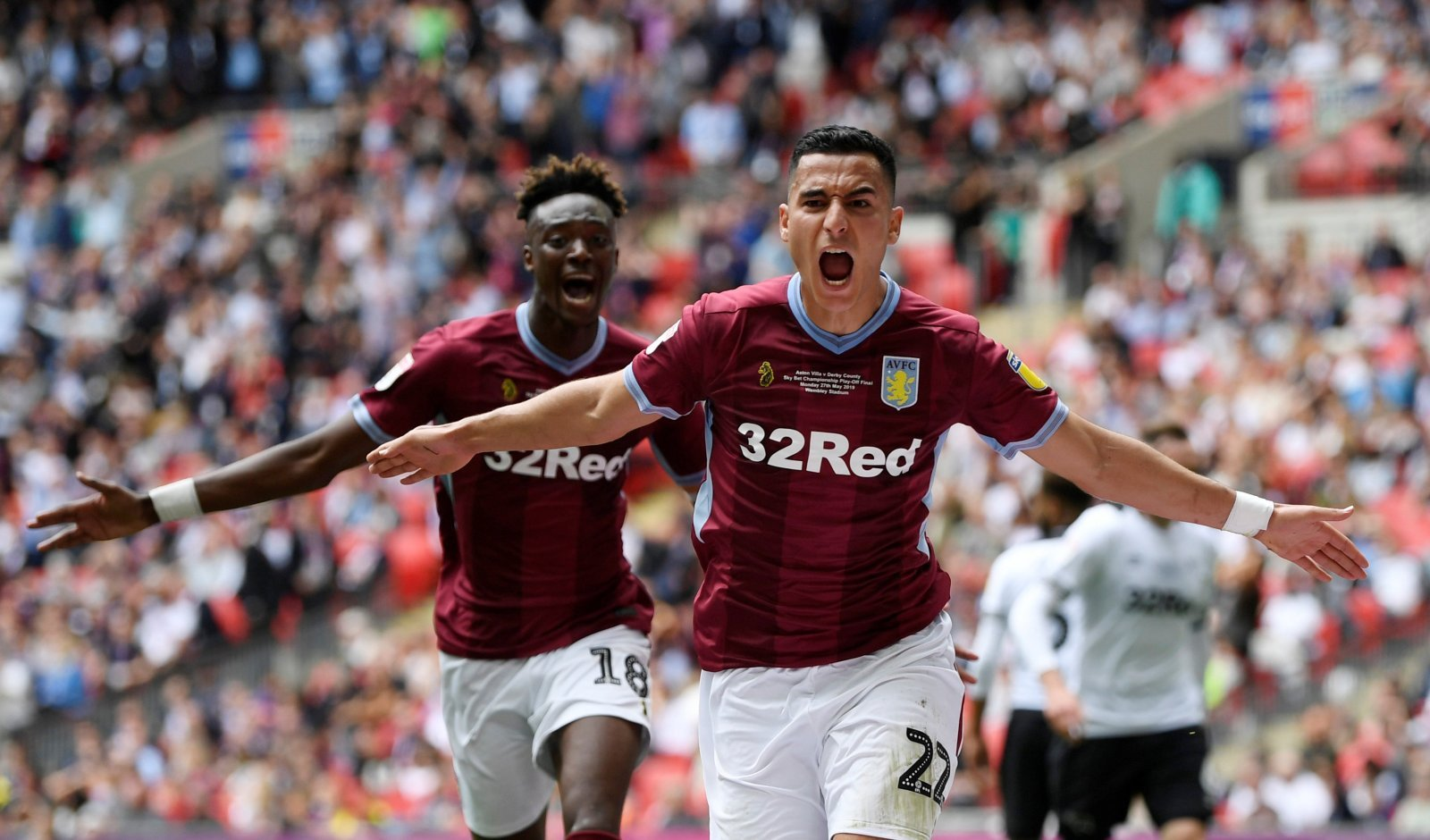 Unsung hero: Aston Villa's El Ghazi really turned it on at the right time