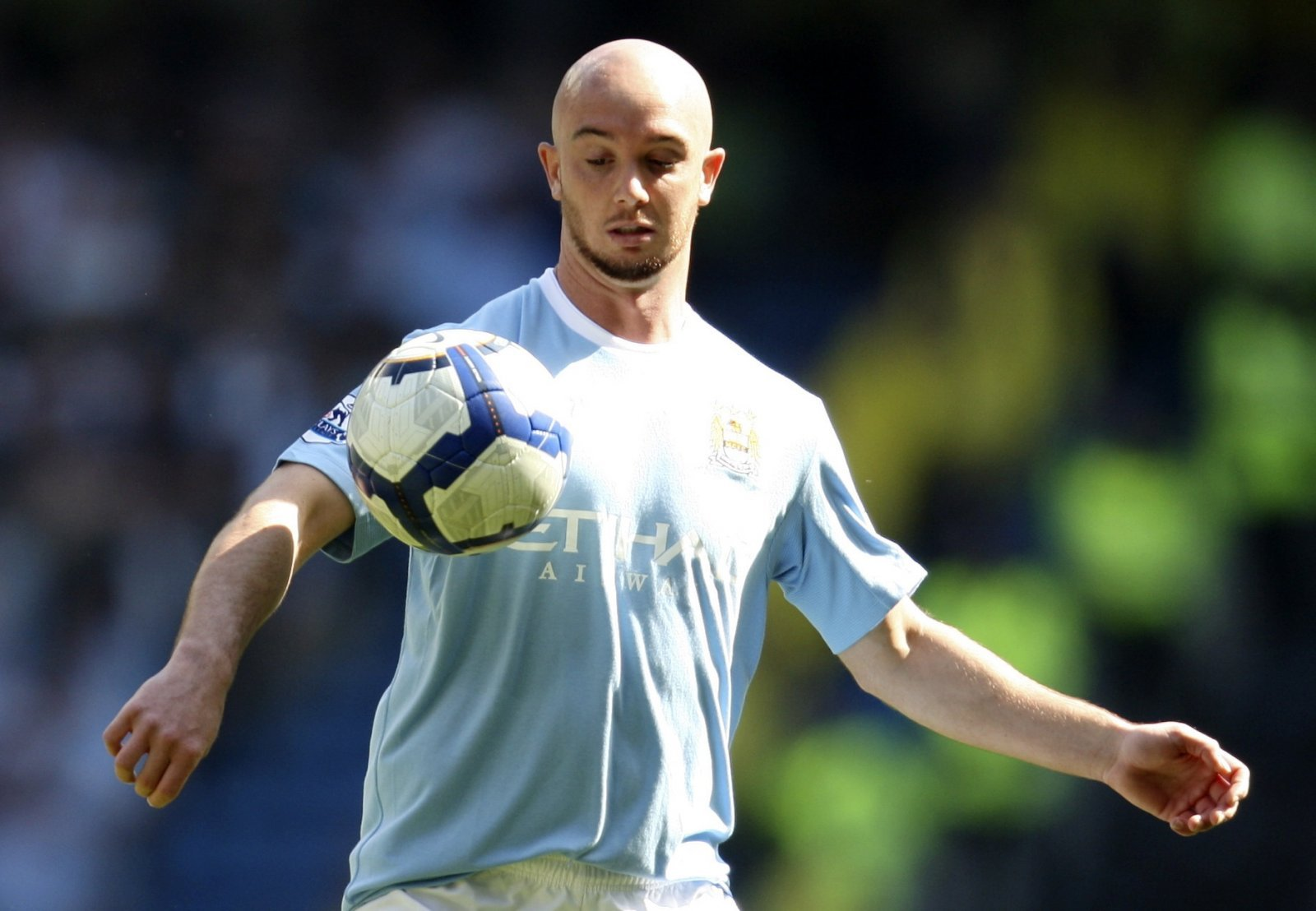 Look at him now: Stephen Ireland and Manchester City