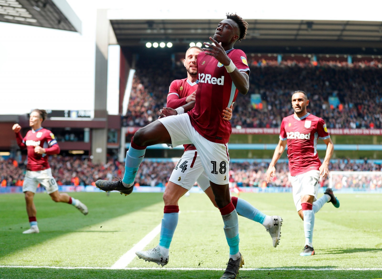 Chelsea: Tammy Abraham quite literally is the future