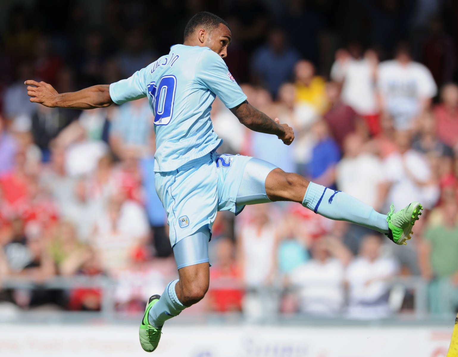 Look at him now: Callum Wilson and Coventry City