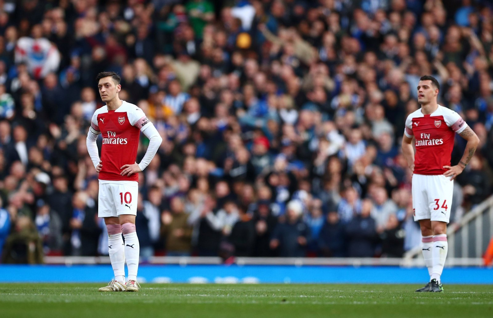 Arsenal: Fans don't want Granit Xhaka to start against Manchester United