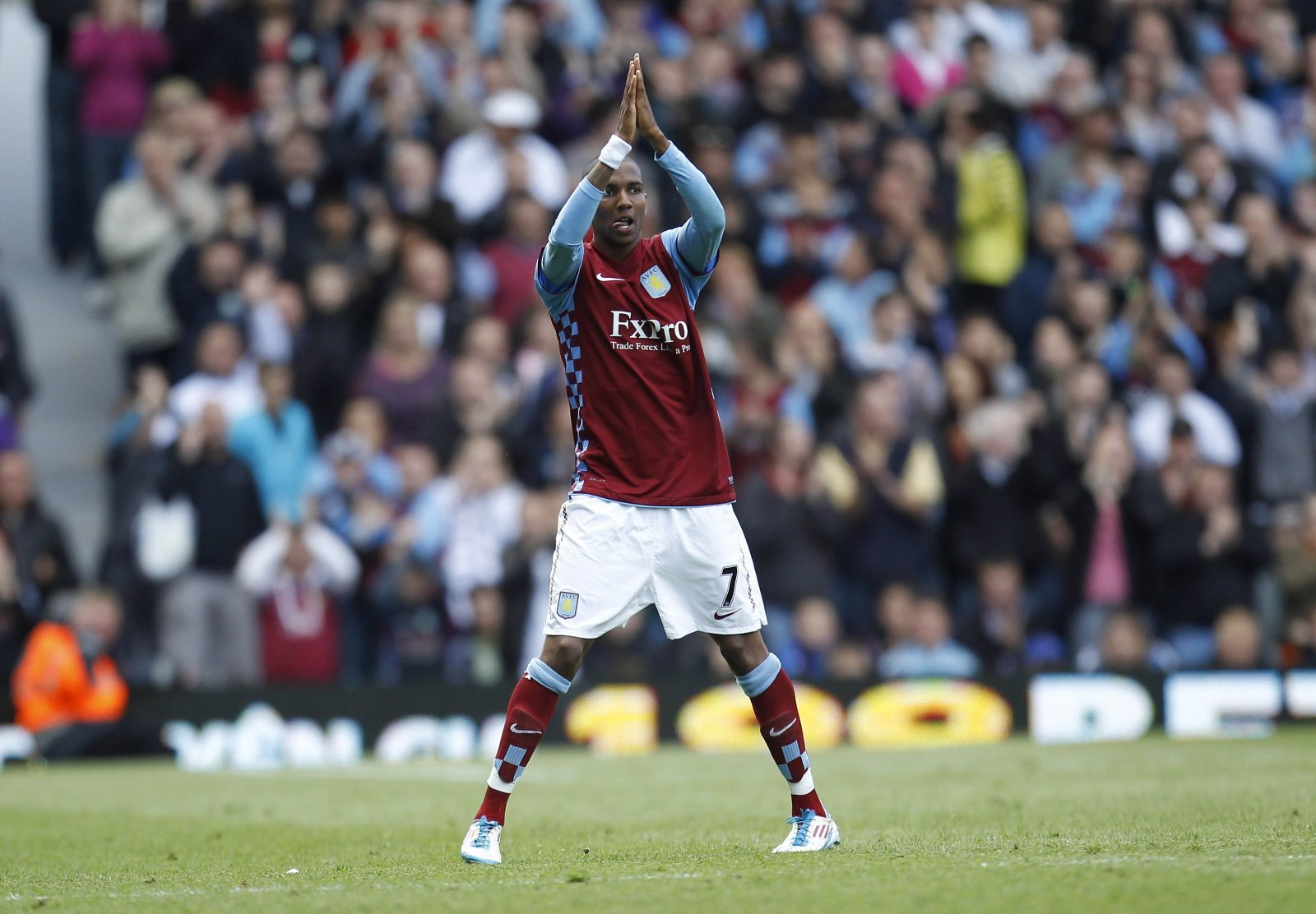 Look at him now: Ashley Young and Aston Villa