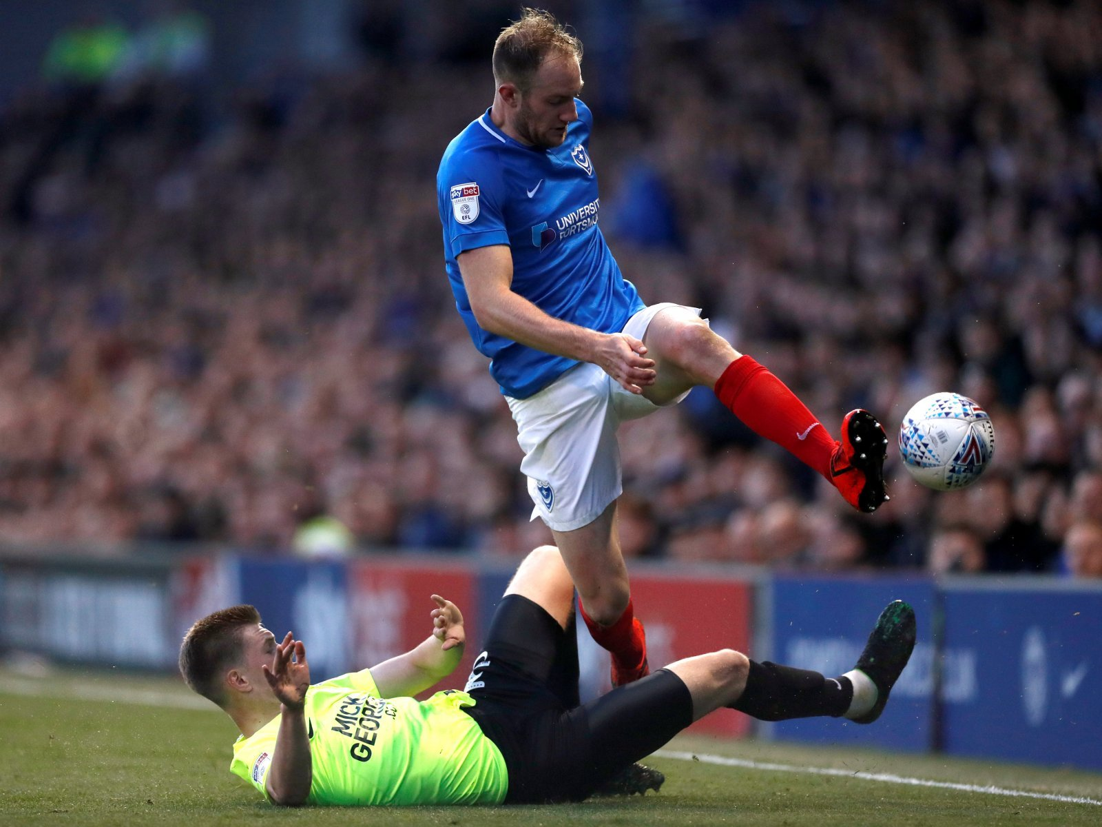 Profit Players: Matt Clarke was signed by Portsmouth for free and sold for millions