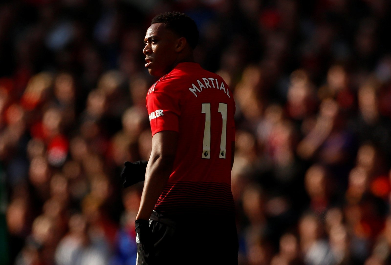 Manchester United: Anthony Martial provides club with hope in centre-forward position