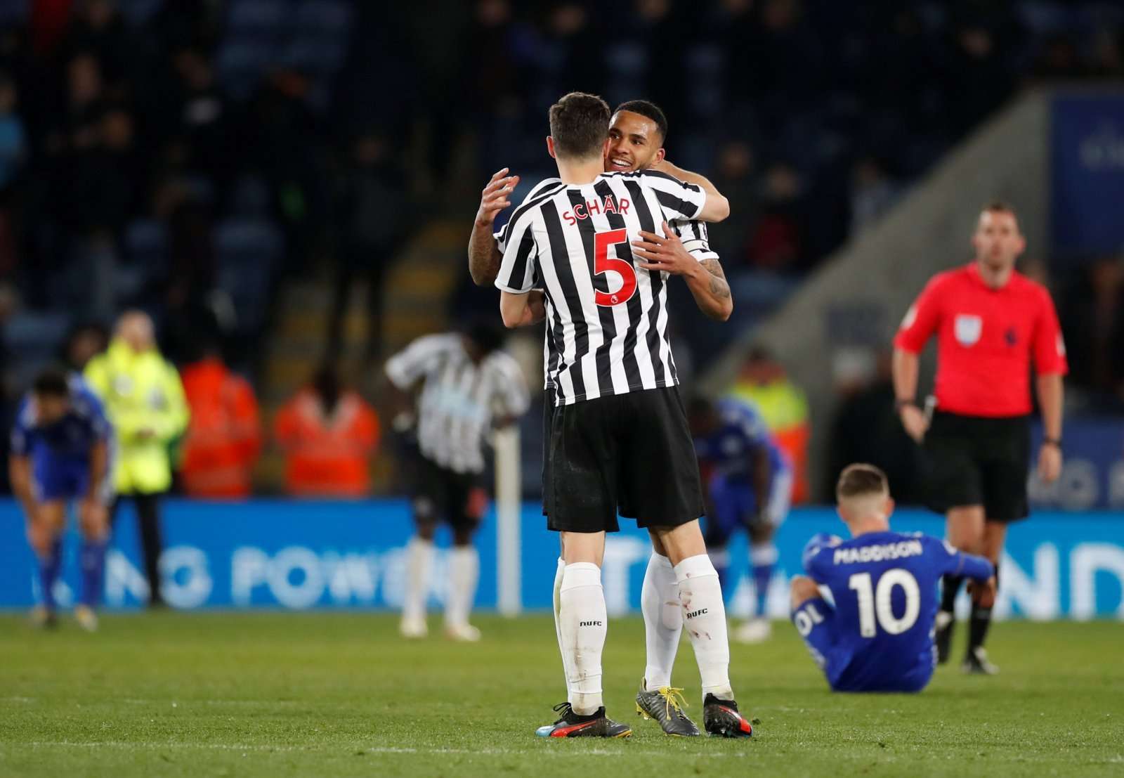 Introducing: Jamaal Lascelles and Fabian Schar, the two biggest victims of Newcastle blunder