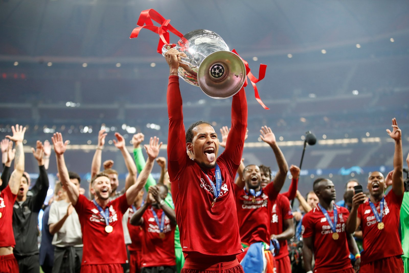 Liverpool: Fans hail Virgil van Dijk after being named UEFA Men's Player of the Year