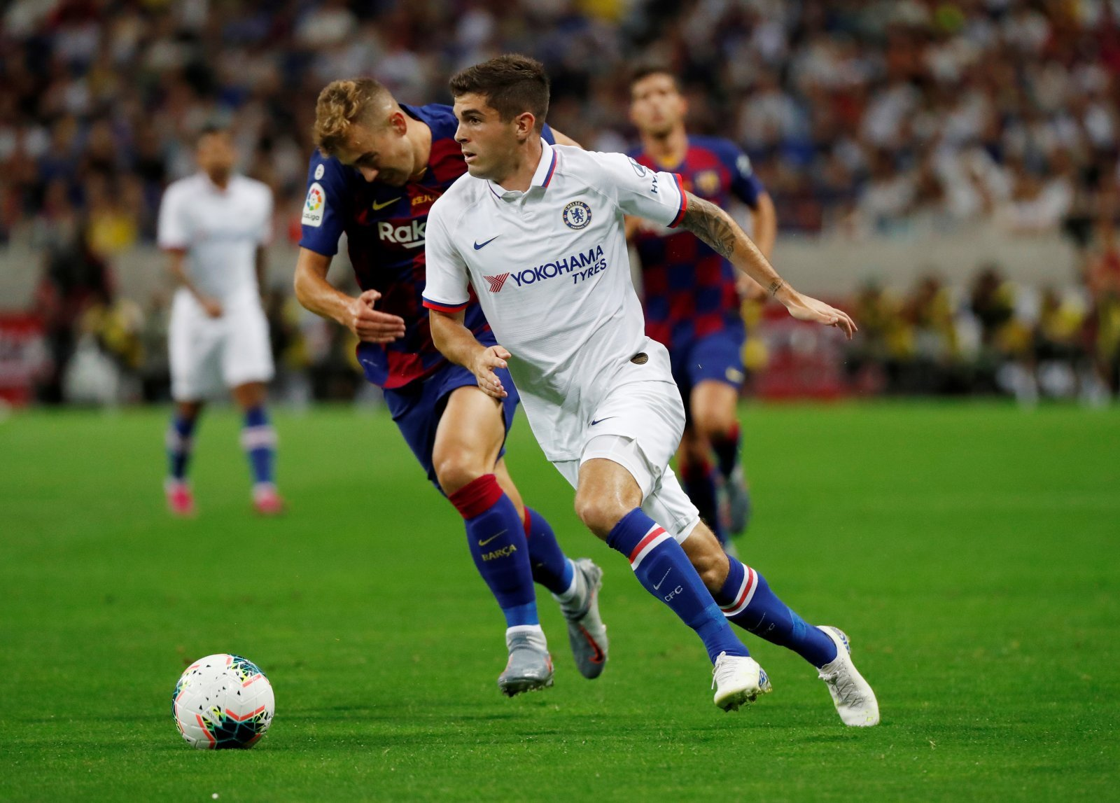 Chelsea: Fans delighted with Christian Pulisic substitution