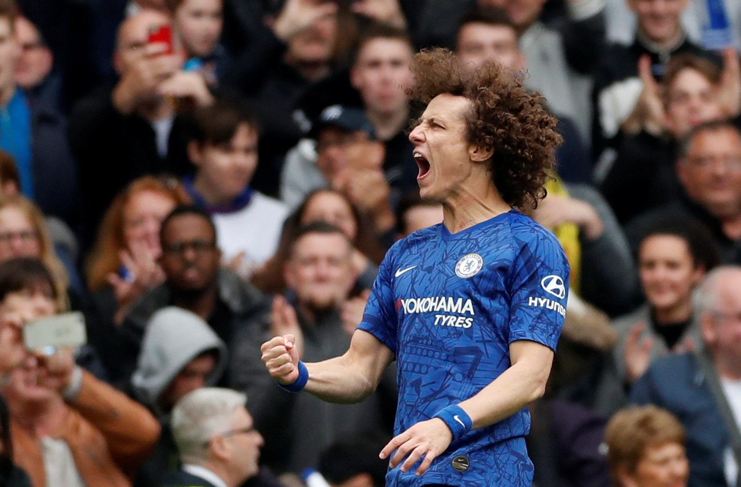 Chelsea: David Luiz admits it is great to have Frank Lampard back
