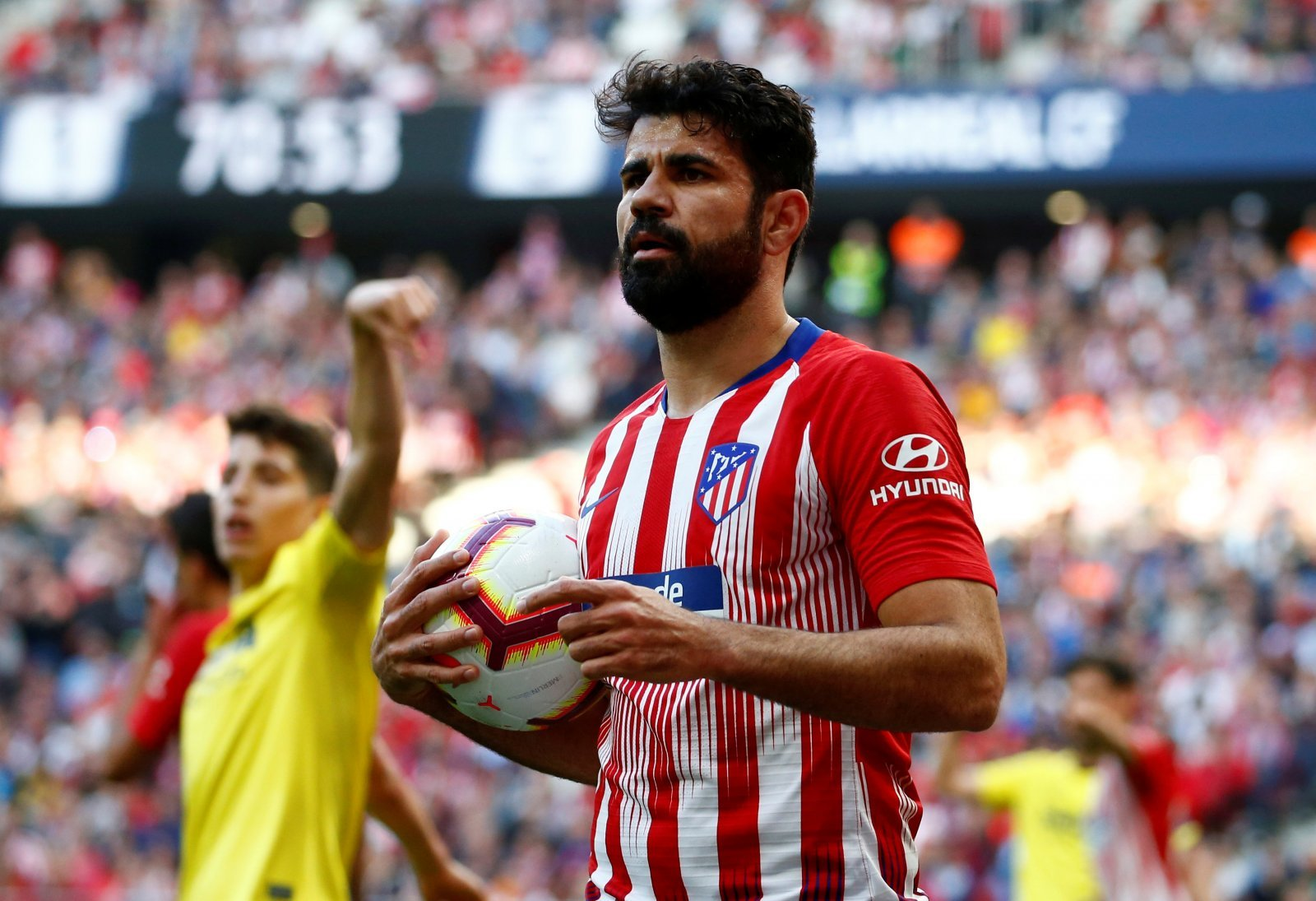 Atletico Madrid: Diego Costa targeted by AC Milan