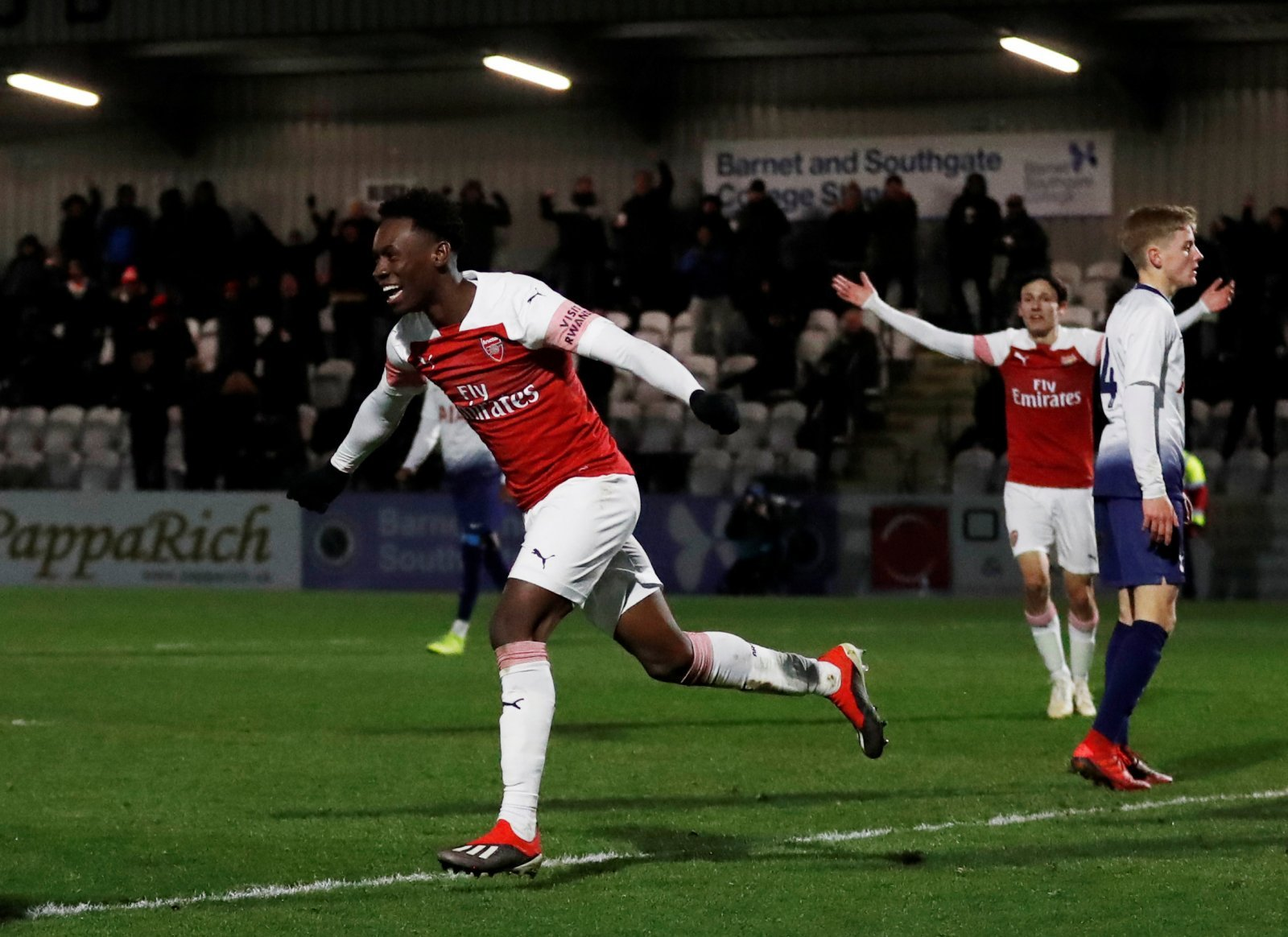 Arsenal: Fans impressed by youngster's hat-trick blitz