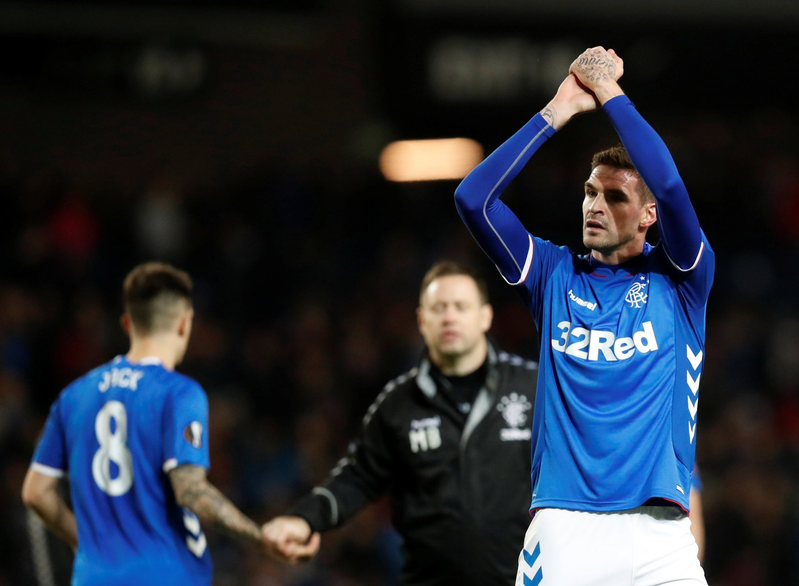 Rangers: Fans react to the departure of Kyle Lafferty on Twitter