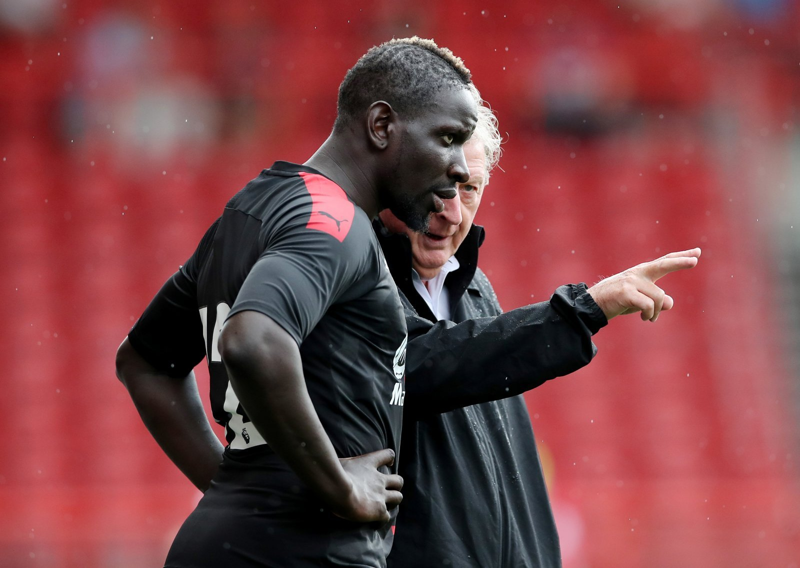 Crystal Palace: Fans react to Mamadou Sakho returning to training