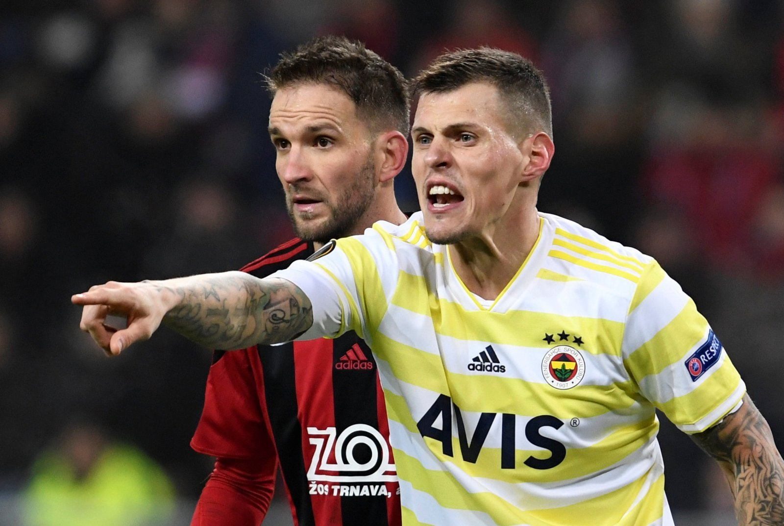 Rangers: Martin Skrtel confirms he has had talks about a possible switch