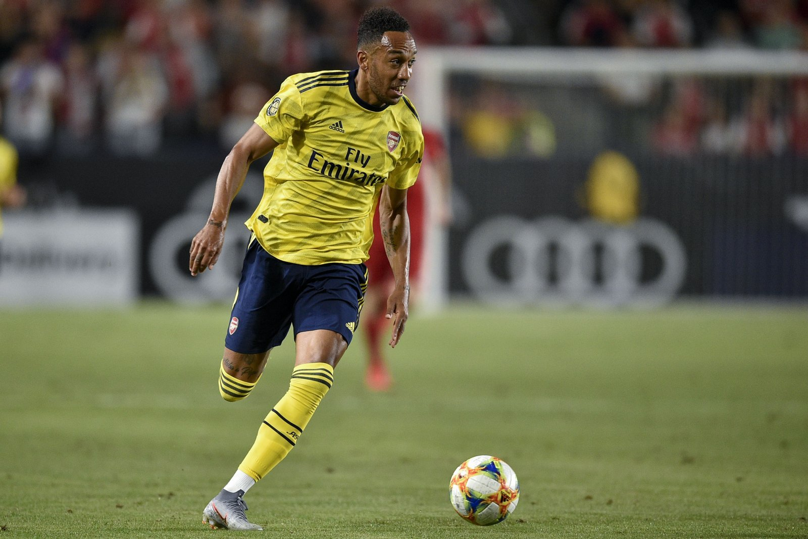 Unsung Hero: Pierre-Emerick Aubameyang provides quality in Arsenal's draw with Manchester United
