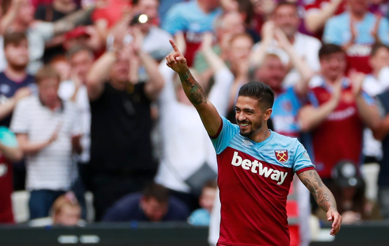 West Ham: Fans buzzing with Lanzini's comments after signing new deal