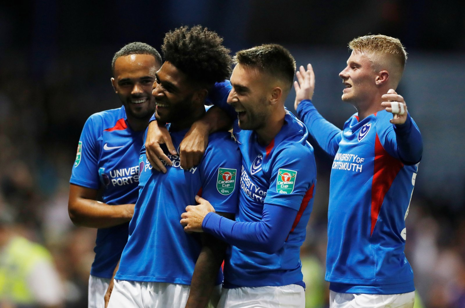 Portsmouth: 4-3-3 formation could continue, says assistant manager