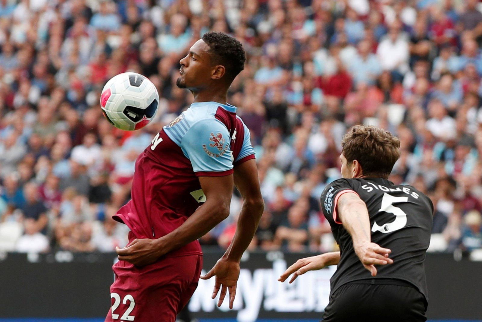 Unsung Hero: Sebastien Haller looked a real presence despite West Ham's trouncing