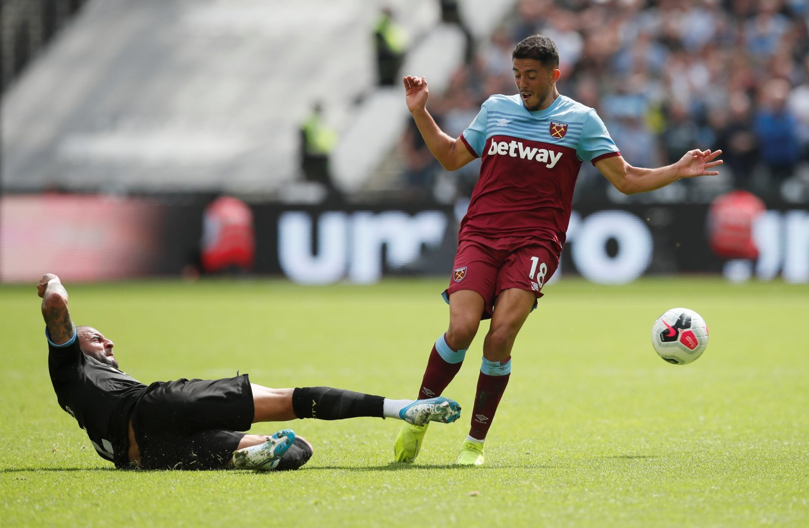 West Ham United: Pablo Fornals admits to struggling with the Premier League