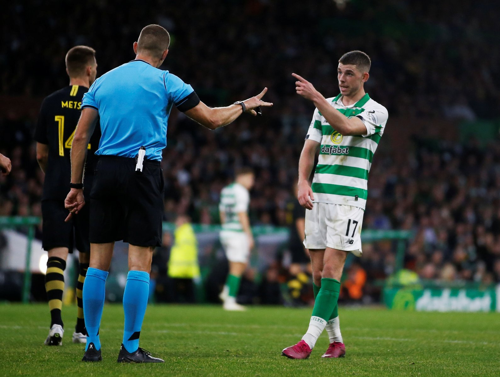 Celtic: Ryan Christie remains downbeat after weekend red card