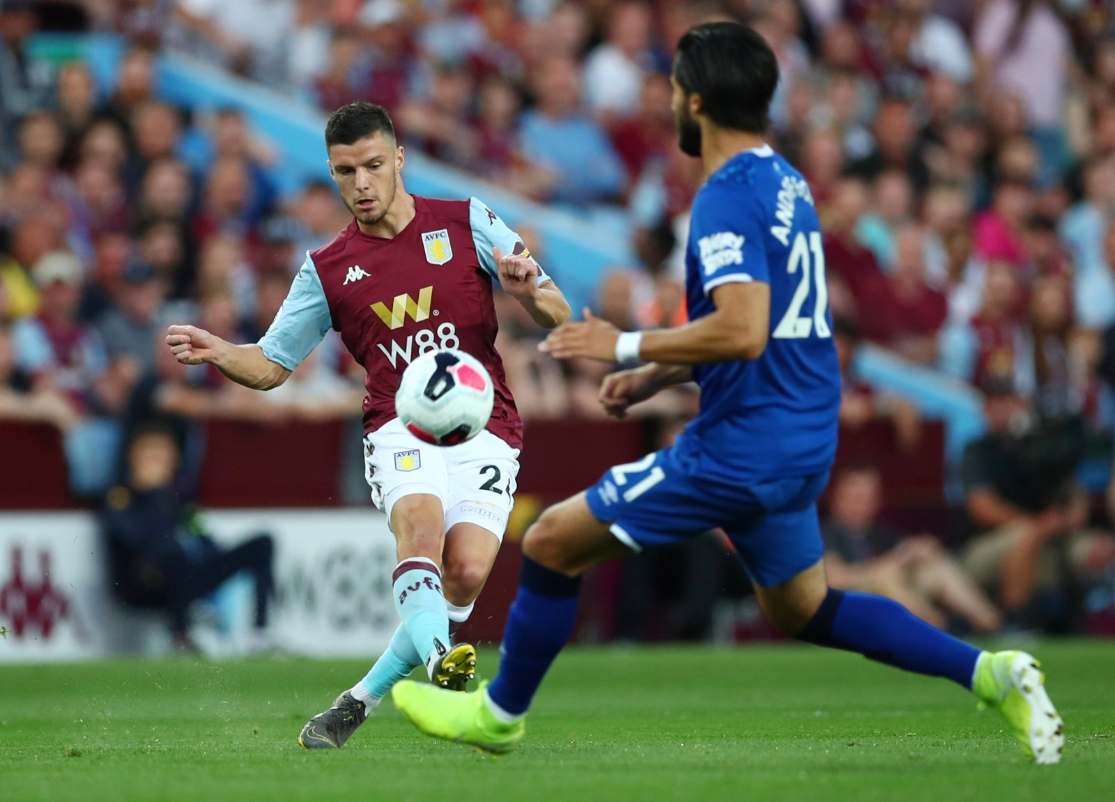 Unsung Hero: Aston Villa's Frederic Guilbert takes his opportunity against Everton