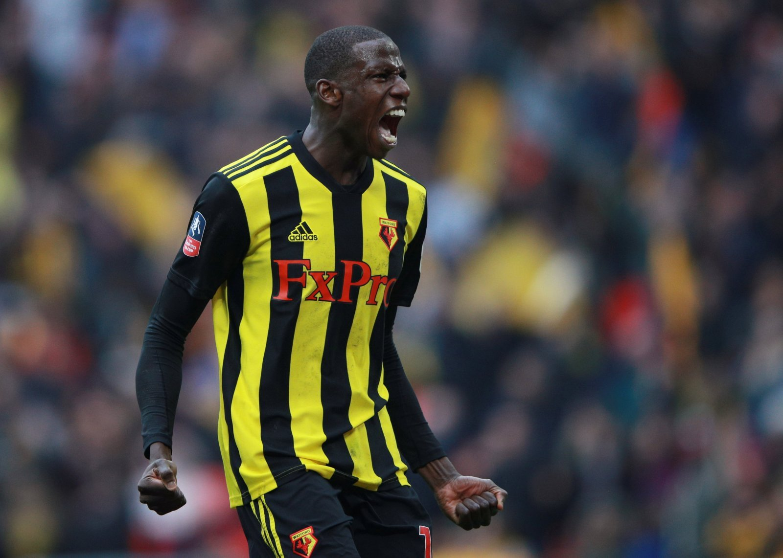 Watford: Fans respond after 12.2km shift put in by 'engine' Abdoulaye Doucoure
