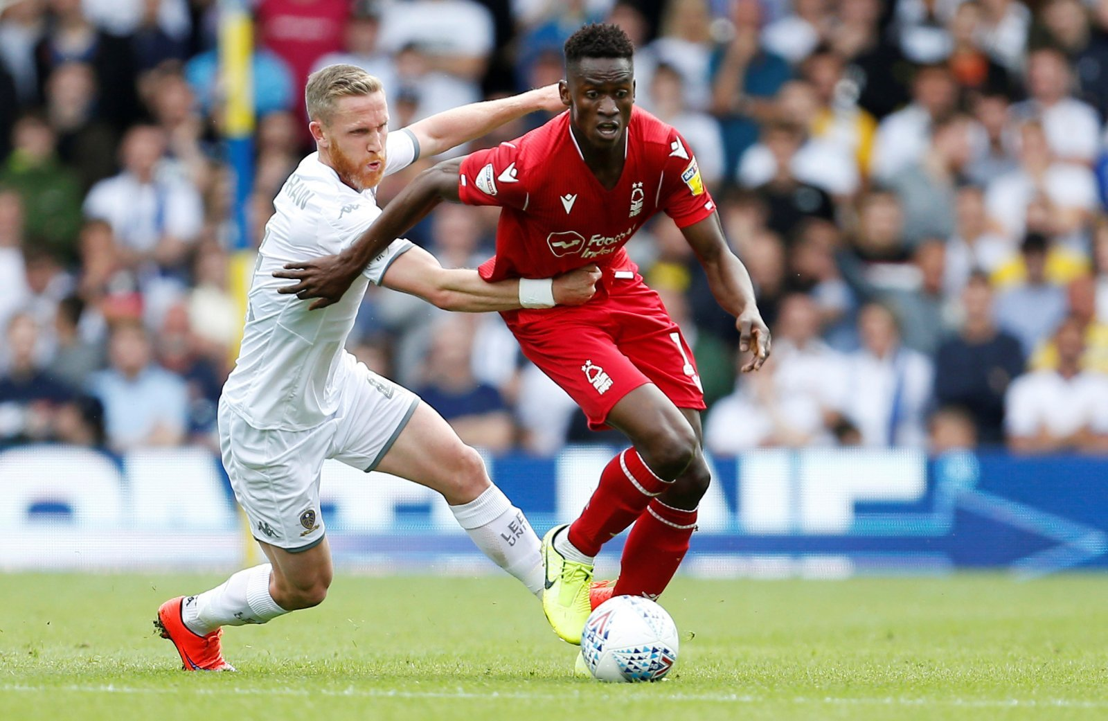 Leeds United: Adam Forshaw continues to play out of his skin
