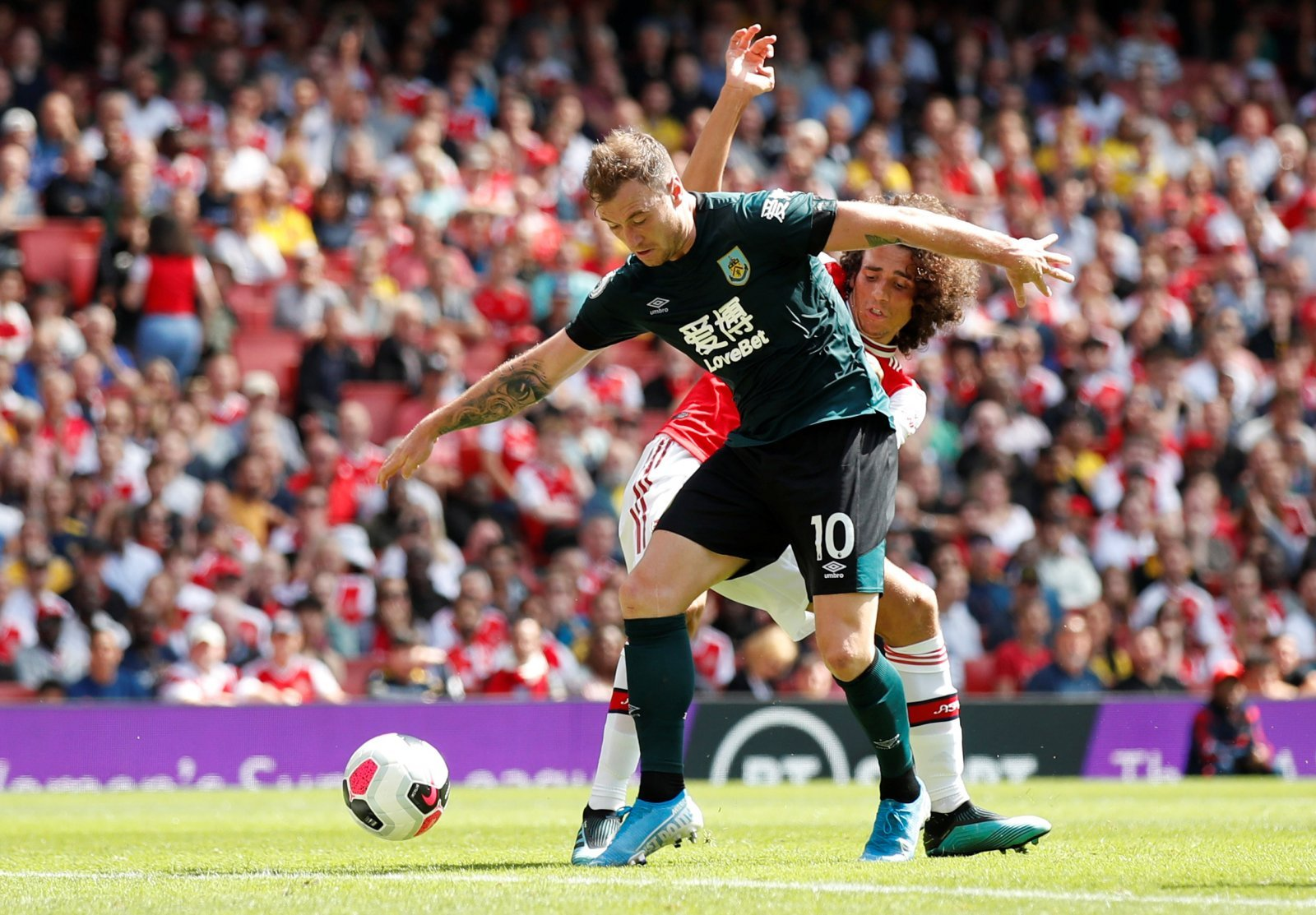 Tottenham Hotspur: Burnley's Ashley Barnes is being considered as a January transfer target
