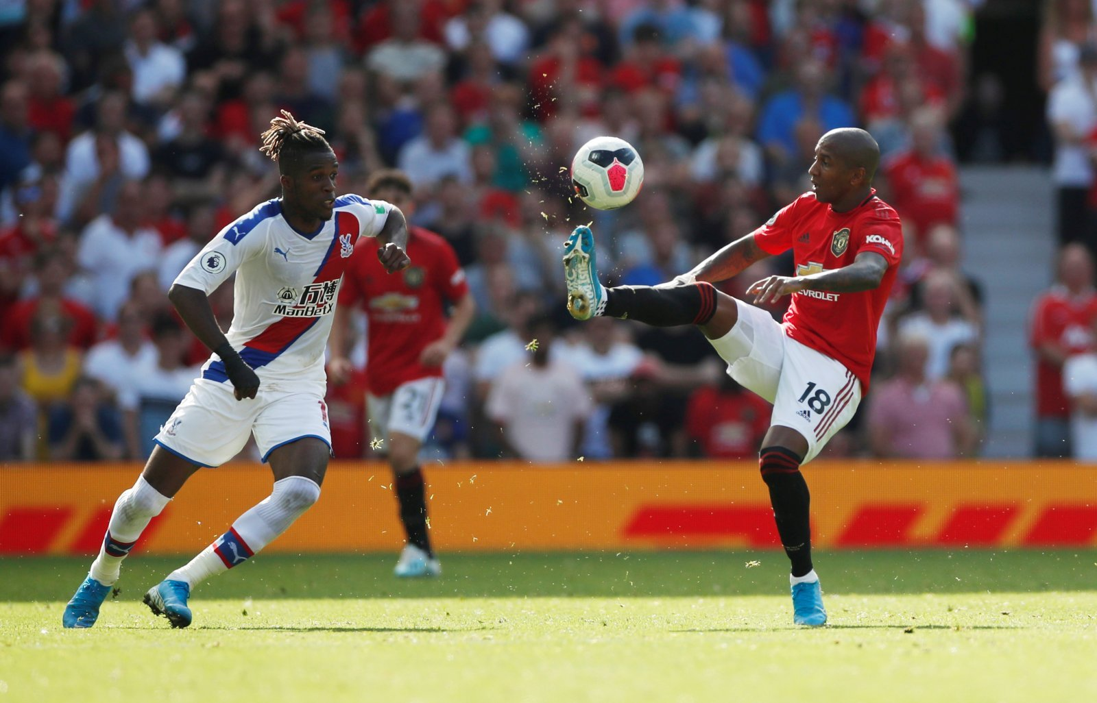 Unsung Hero: Ashley Young made the biggest impact for Manchester United against Crystal Palace