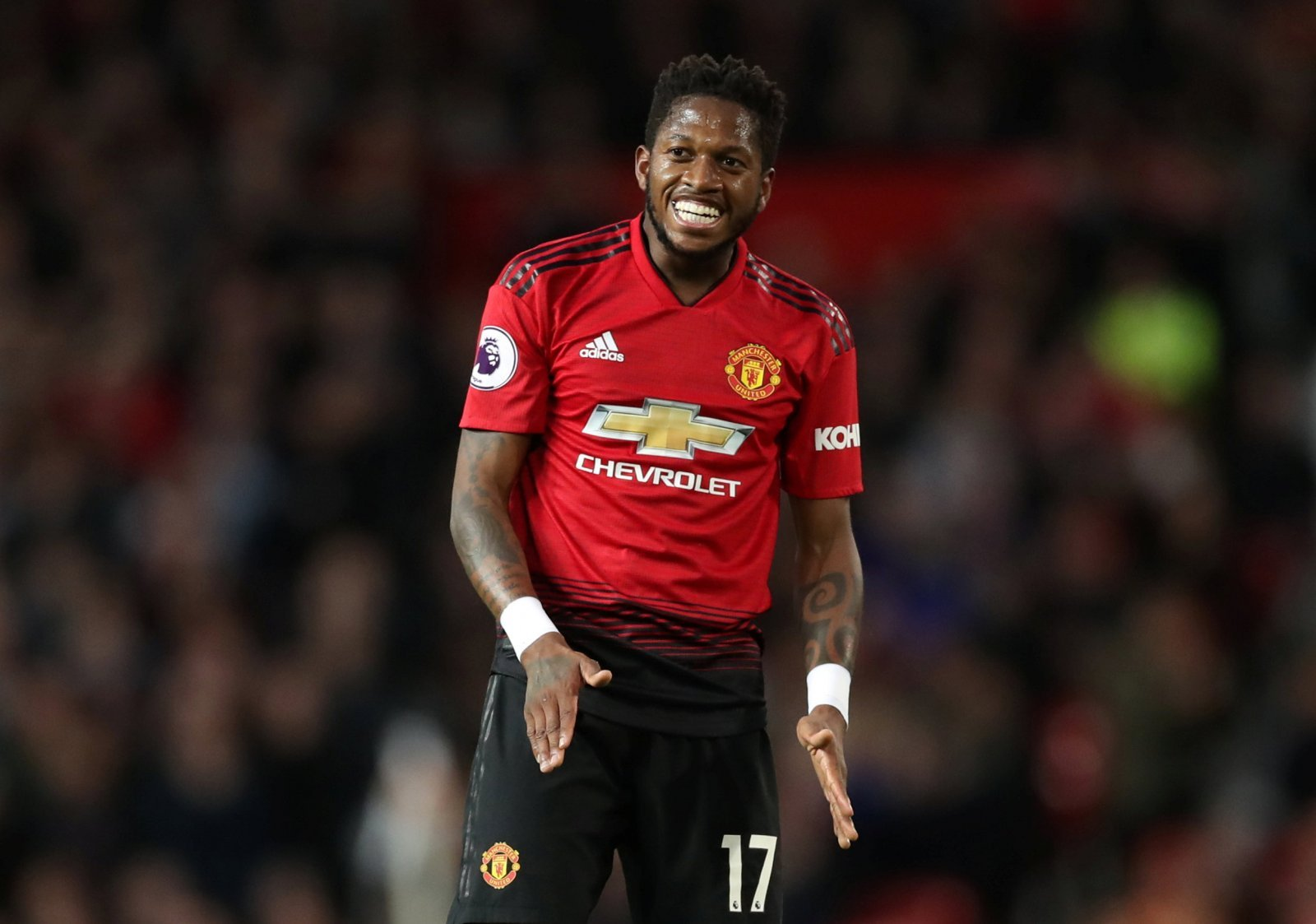 Manchester United: Fans are calling for Fred to be played by Ole Gunnar Solskjaer
