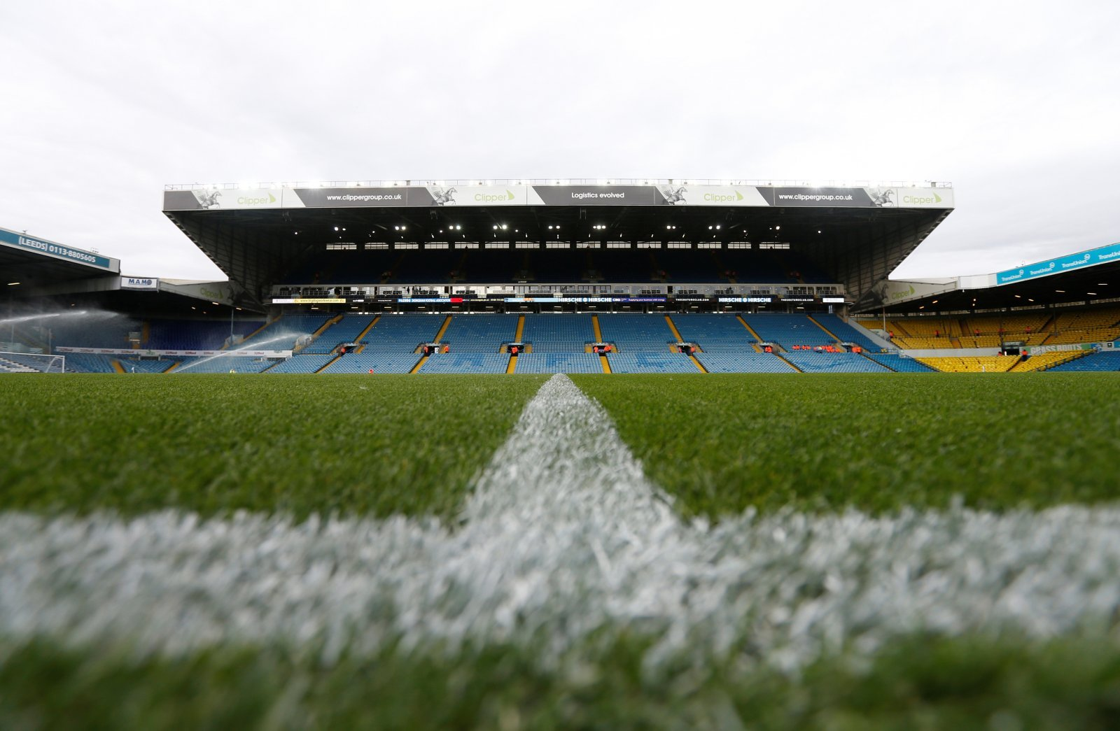 General view inside Elland Road before the Brentford match, August 2019