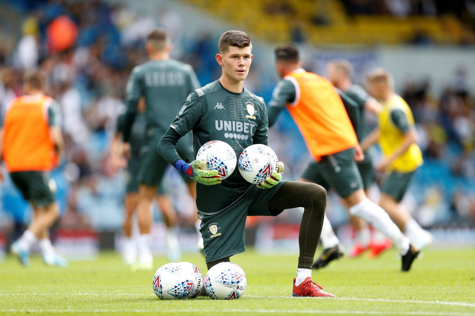 Leeds United: Fans were pleased with what they saw from Illan Meslier in Under-23 draw