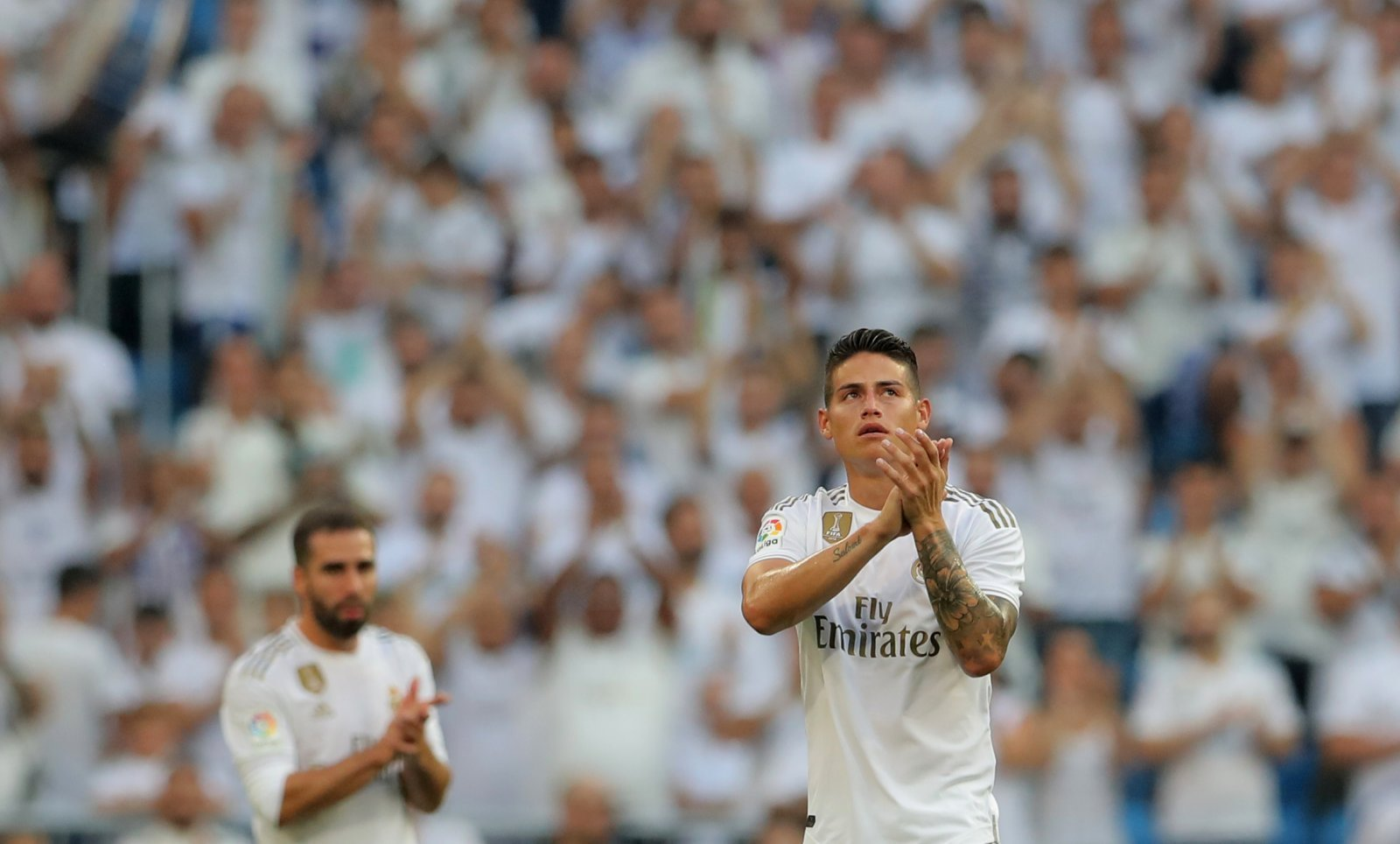 Real Madrid: James Rodriguez suffers calf injury