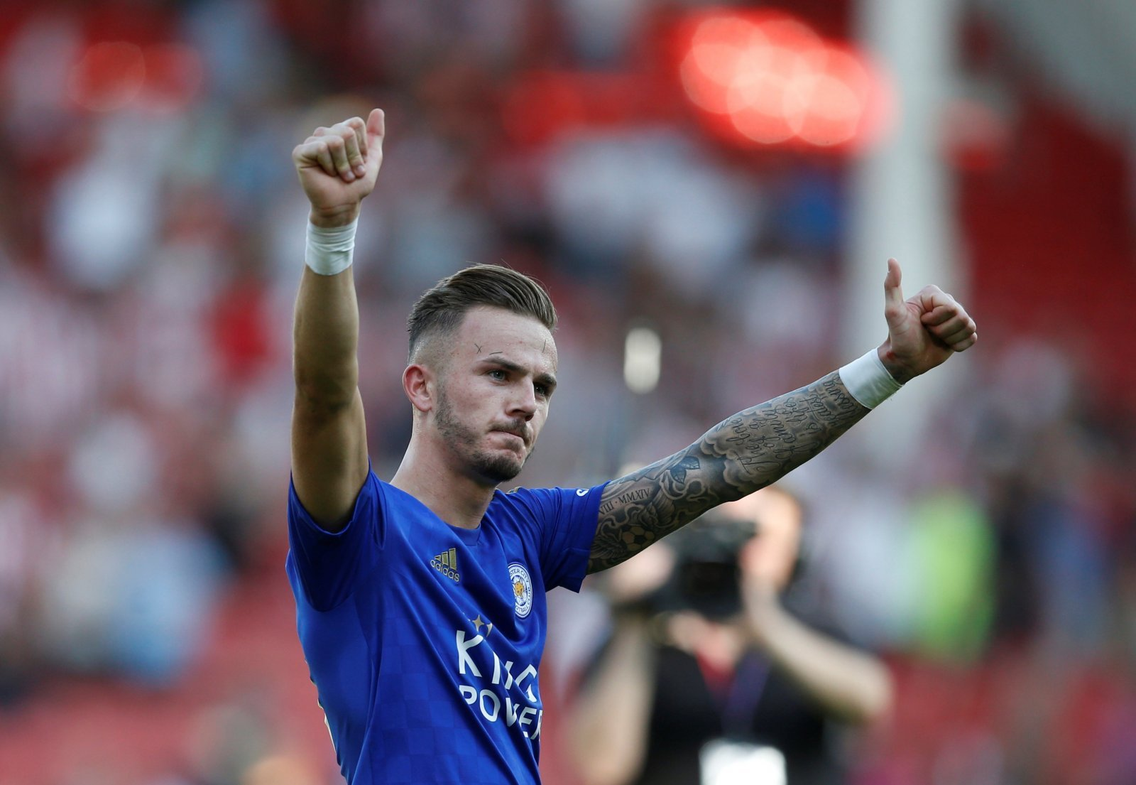 Leicester City: Fans show love for John Percy after bringing good James Maddison news
