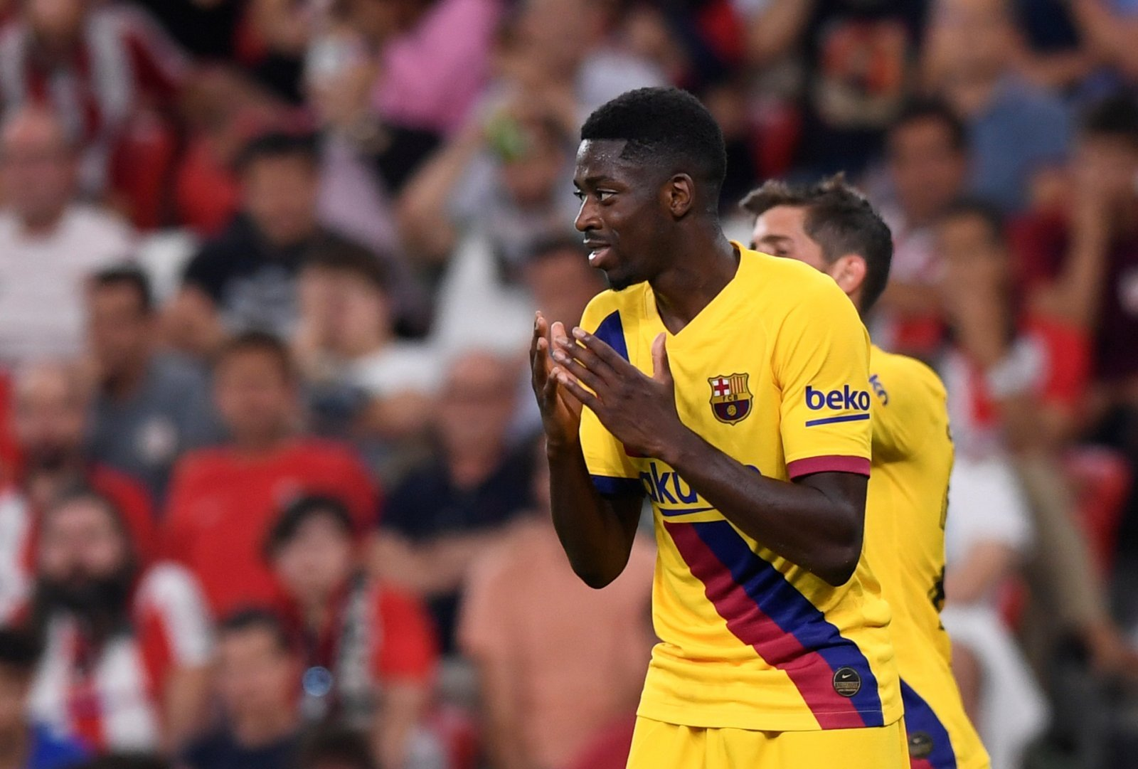 Barcelona: Fans not thrilled about Ousmane Dembele's potential return