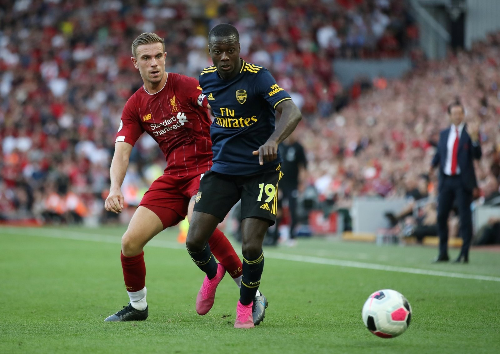 Arsenal: North London faithful rave over Nicolas Pepe after emergence of this statistic