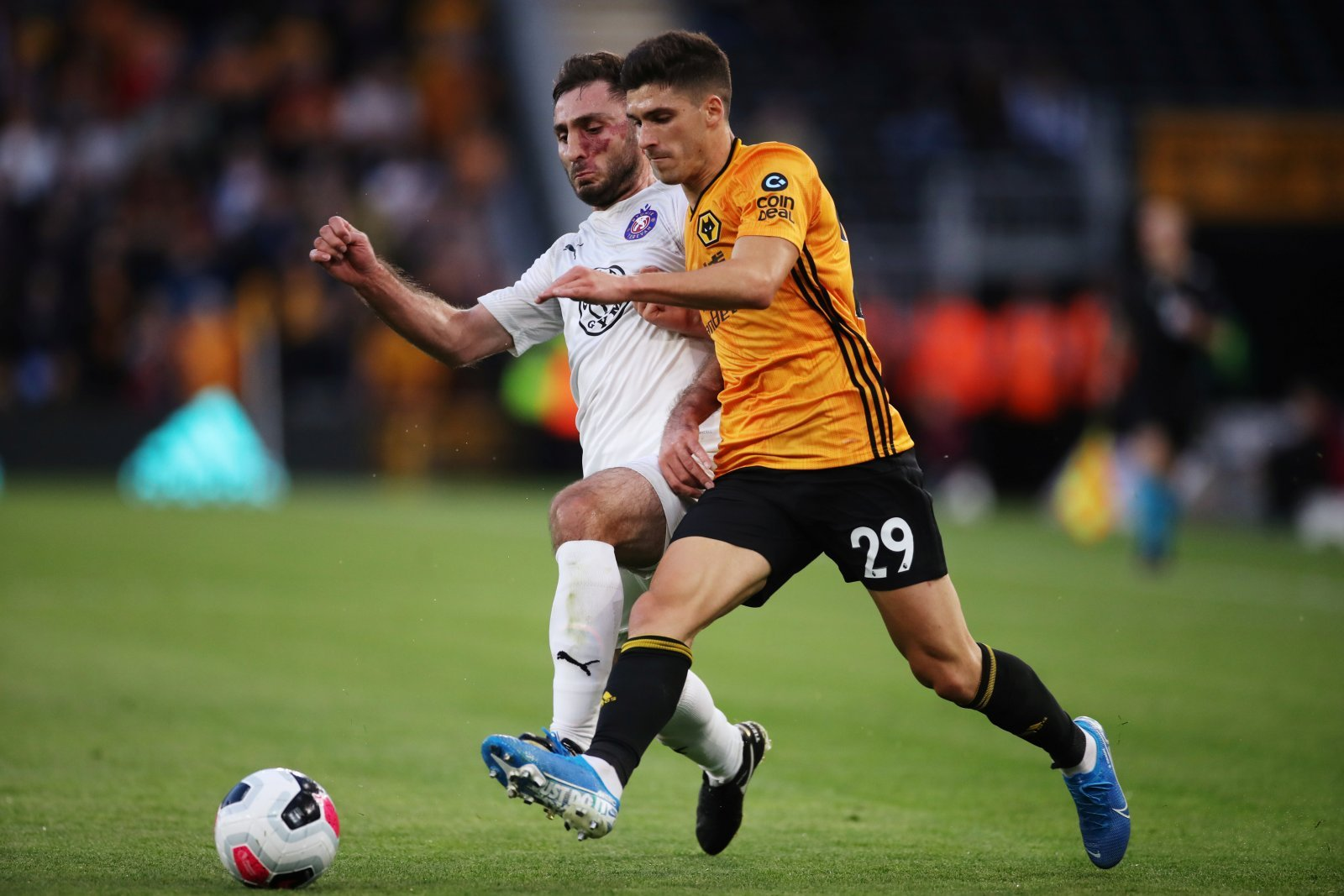 Wolves: Supporters on Twitter weren't happy with Ruben Vinagre yesterday
