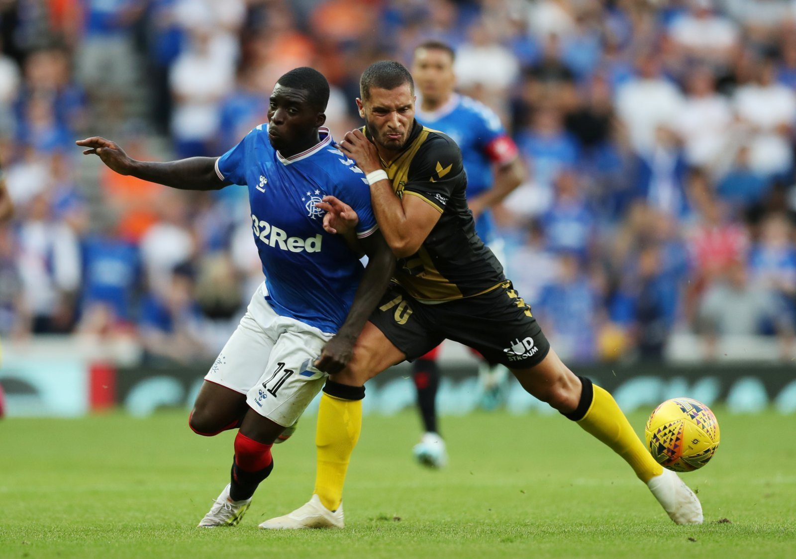 Rangers: Fans on Twitter couldn't get enough of magnificent Sheyi Ojo