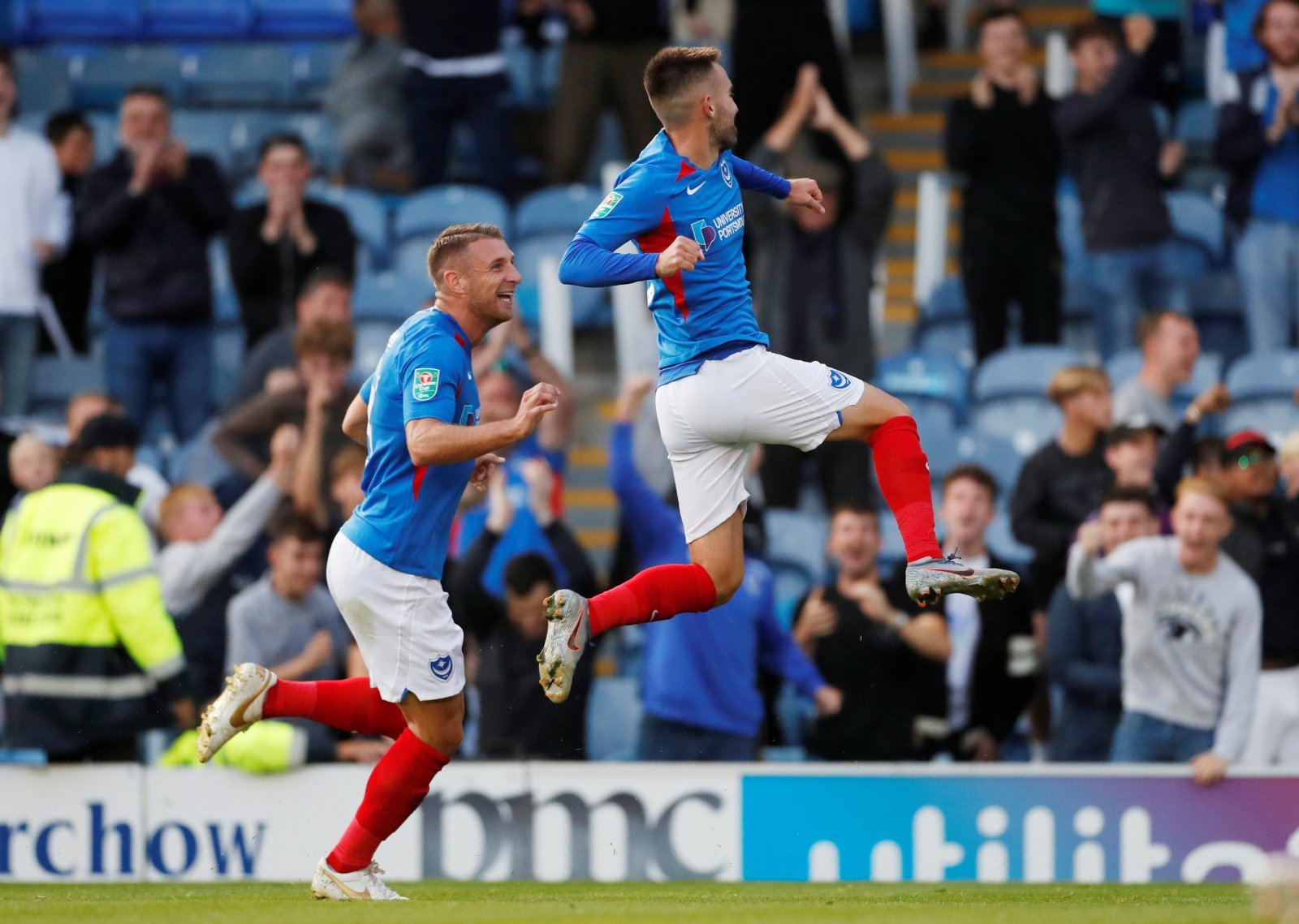 Portsmouth: Ben Close nominated for League One Goal of the Month award for August