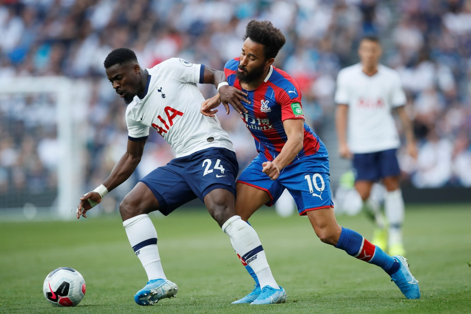 Tottenham Hotspur: Some fans feel Serge Aurier has been robbed