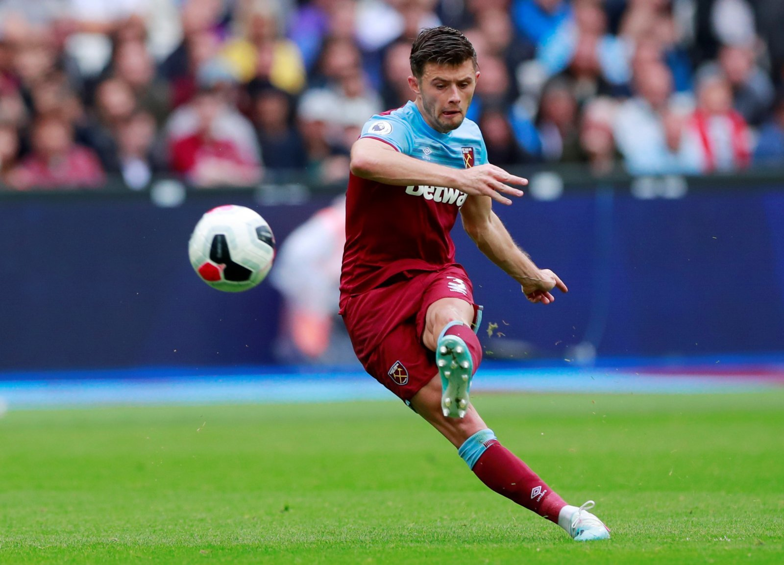 West Ham United: Aaron Cresswell set to be available against Sheffield United