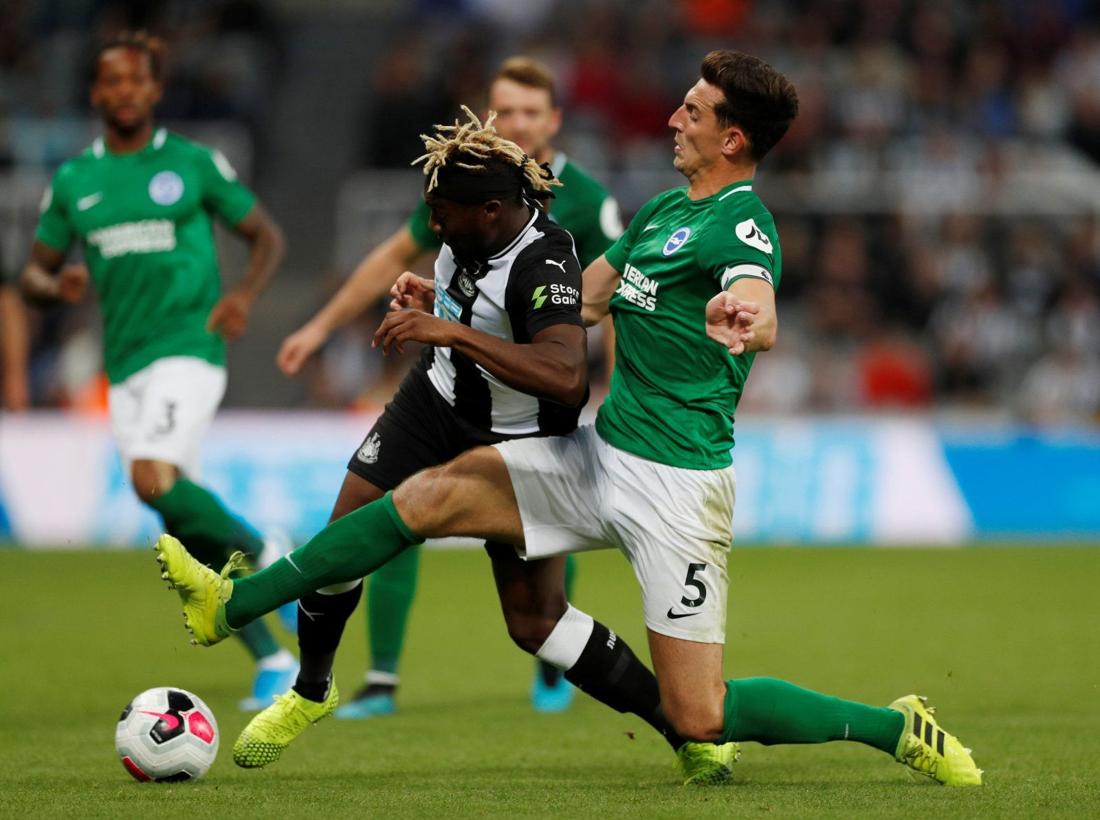 Newcastle United: Fans hail Allan Saint-Maximin after brilliant performance