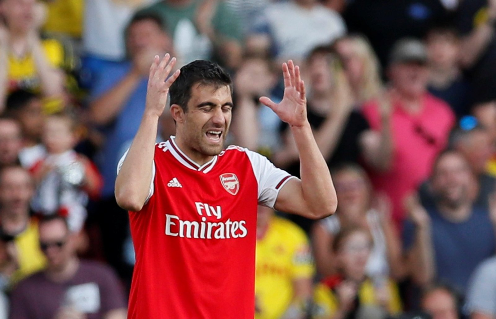 Arsenal: Fans slam Sokratis for Watford display