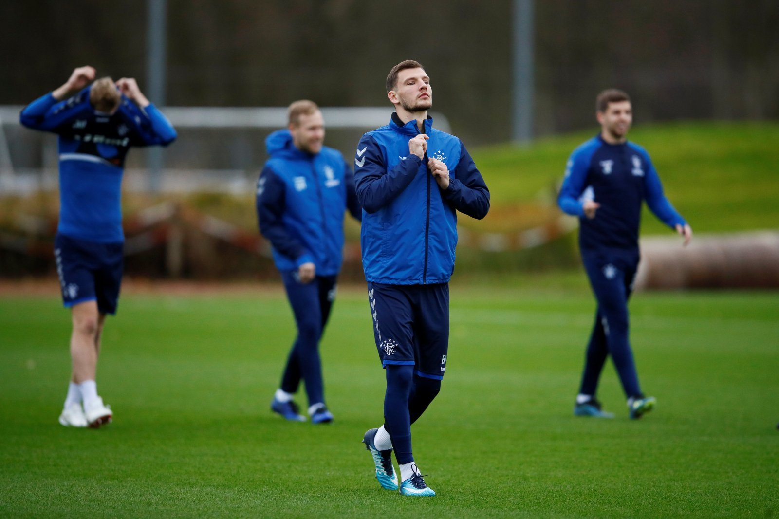 Rangers: These fans laud Borna Barisic for pre-match comments